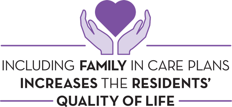 Include family in care plans